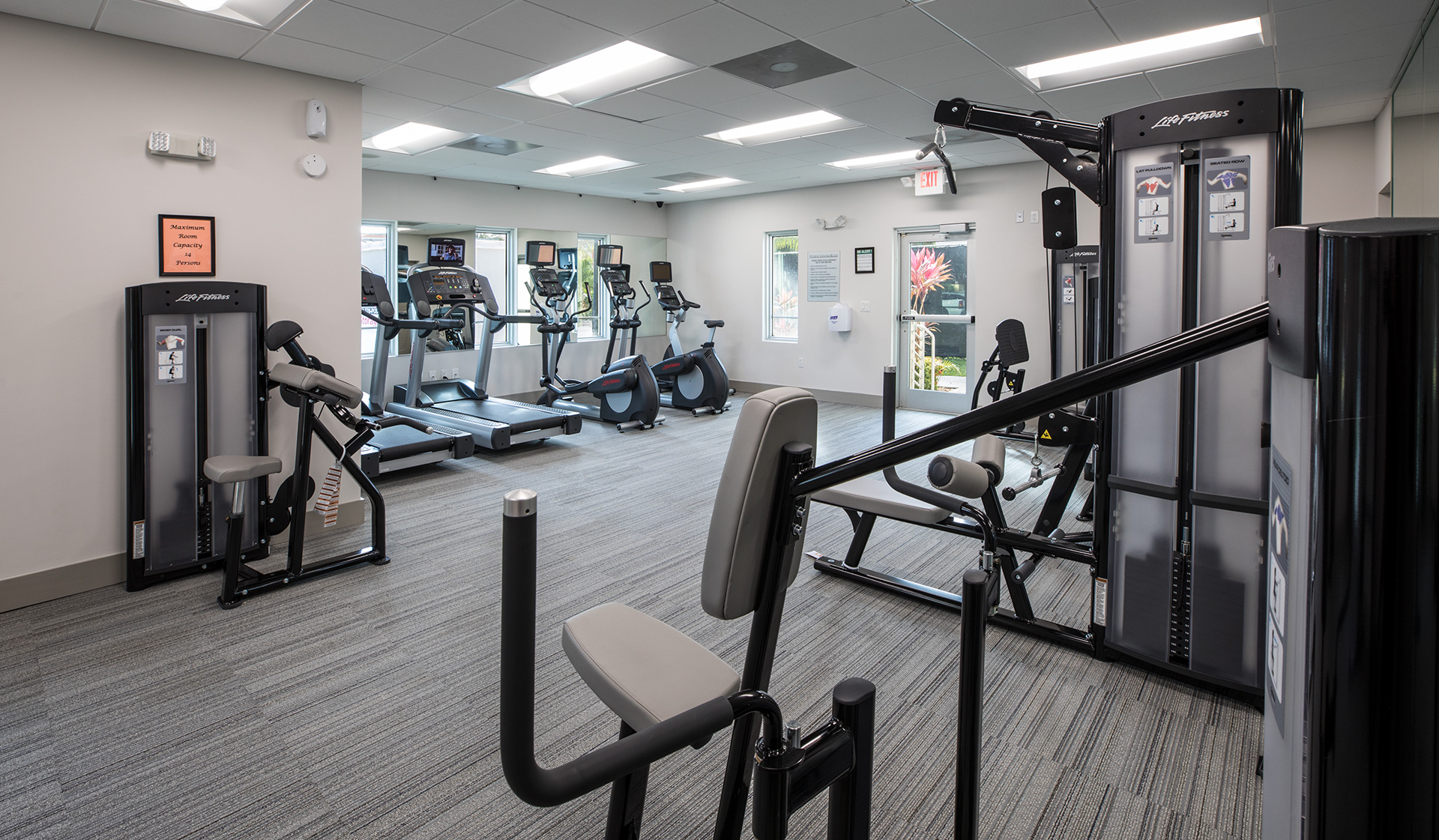 Four Quarters Apartments & Townhomes - fitness center